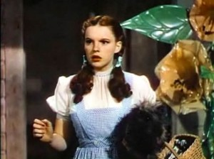 Don't worry, Dorothy.  There's a way to bring you home.  Image from Wikipedia Commons